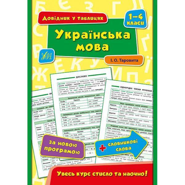 Справочник в таблицах. Украинский язык 1-4 класс