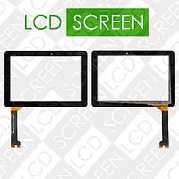 Тачскрин (touch screen, сенсорный экран) для планшета Asus MeMO Pad 10 ME102A, K00F, черный