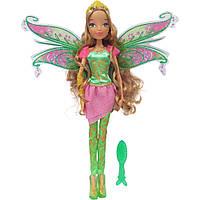 Кукла Винкс Флора Winx Bloomix Flora с крыльями