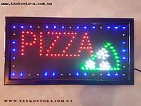 Вывеска PIZZA - пицца светодиодная вывеска, фото 1
