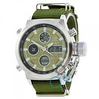 Наручные часы AMST Silver-Green Green Wristband