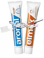 Набор зубных паст Elmex + Aronal 2 шт