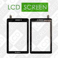 Тачскрин (touch screen, сенсорный экран) для планшета Lenovo IdeaPad S5000, черный