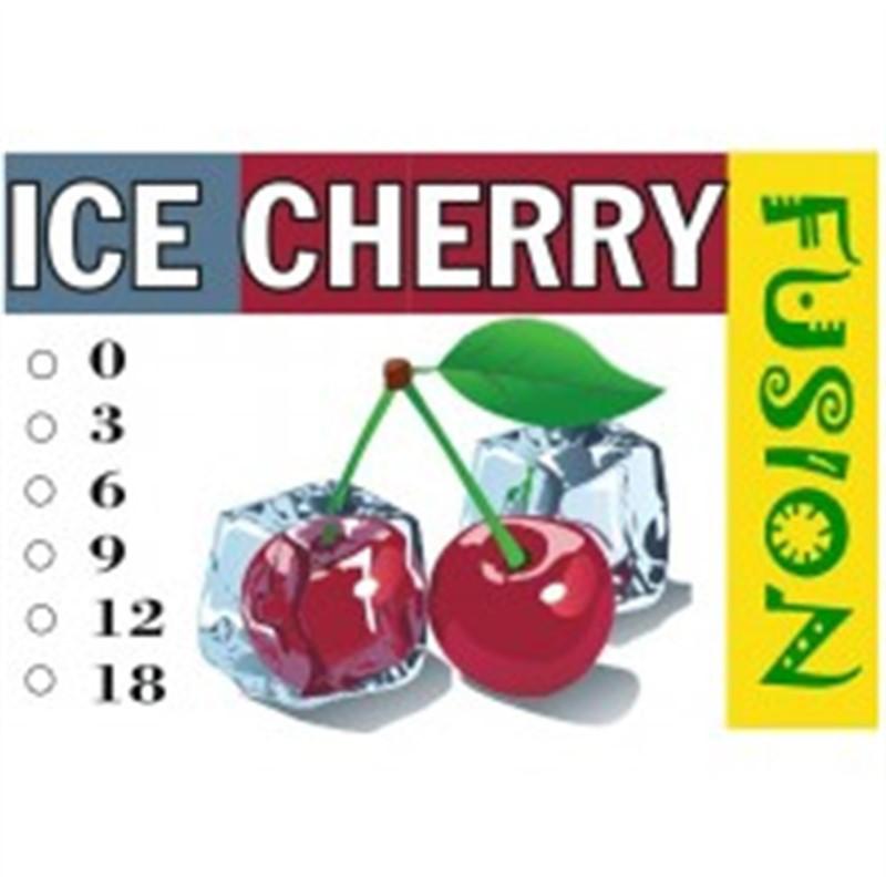 FUSION Жидкость для электронных сигарет. Фруктовые вкусы. Ледяная вишня, 0 мг