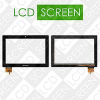 Тачскрин (touch screen, сенсорный экран) для планшета Lenovo IdeaPad S6000, черный