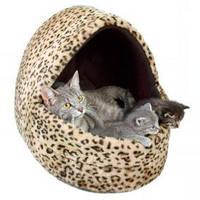 Домик для кота Trixie Leo меховой 40*35*35см (3626)