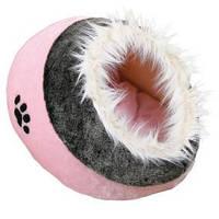 Домик для кота Trixie Minou меховой розовый 41*42*26см (36301)