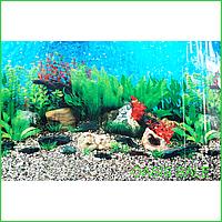 Фон №9019 для аквариума с высотой 60 см