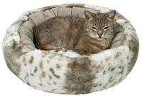 Лежак для кошек  Trixie Leika меховой 50см (36971)