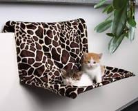Лежак на батарею для кошки Trixie снежный леопард 58*30*38см (43148)