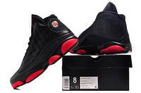 Мужские кроссовки Air Jordan Retro 13 (Black/Red), фото 1