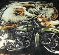 Микрофибровая простынь, покрывало Elway евро Harley
