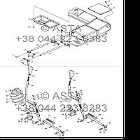 Передняя сторона коробки передач в сборе (опция) на YTO X1254