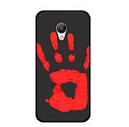 Чехол Термо на Xiaomi Redmi Note 2- Black (Red)