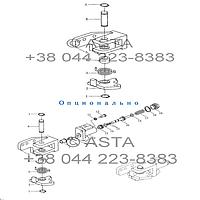 Блокировка дифференциала на YTO X1254, фото 1