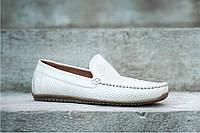 Купляй чоловічі мокасини Prime shoes - шкіряне взуття з перфорацією! Хіт  продаж літа 2018! 64c64c5ffba17