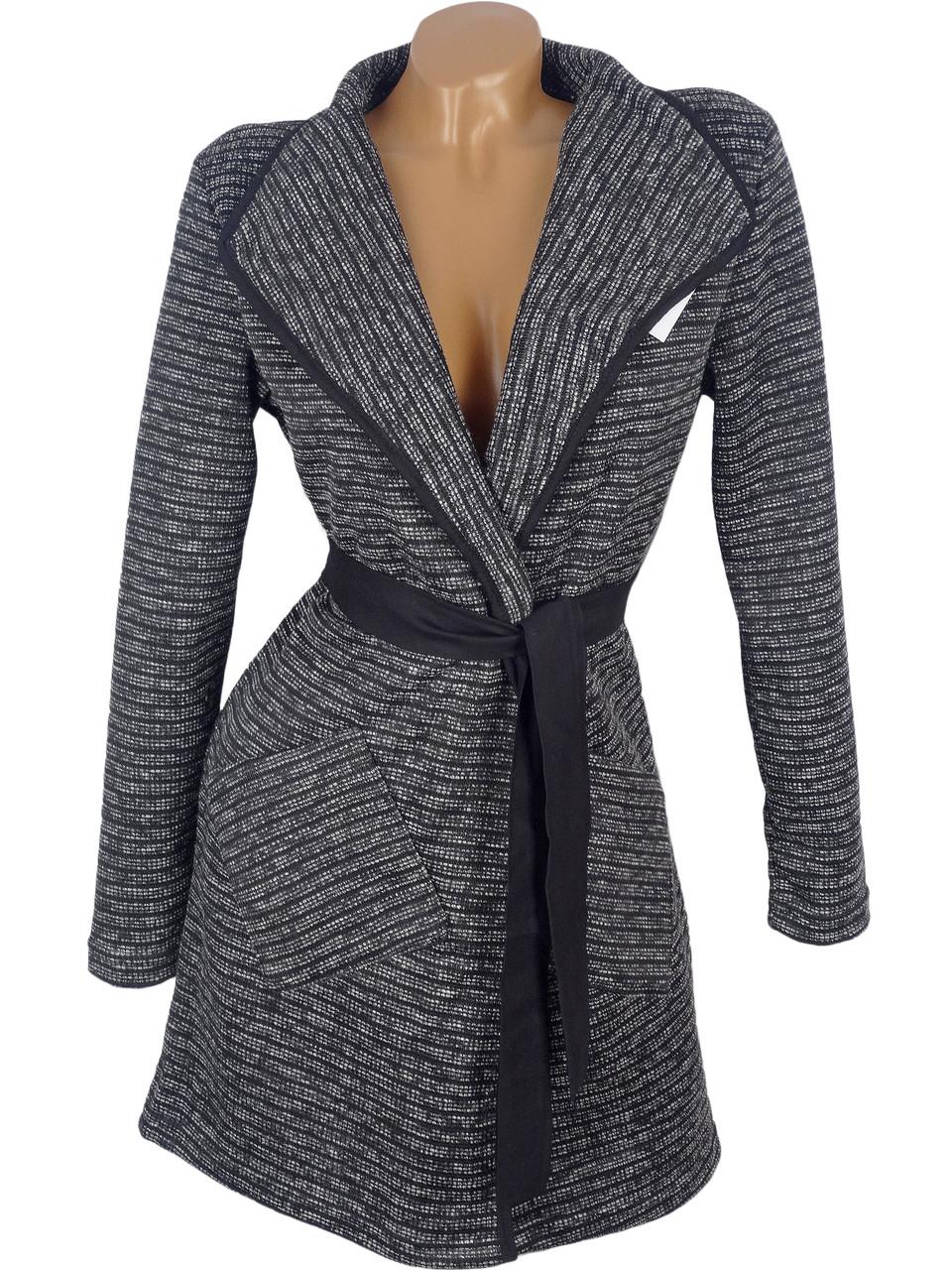 Легкое демисезонное пальто 44-50 (в расцветках)