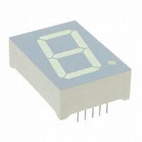 Индикатор светодиодный SA15-11YWA семисегментный /Kingbright/
