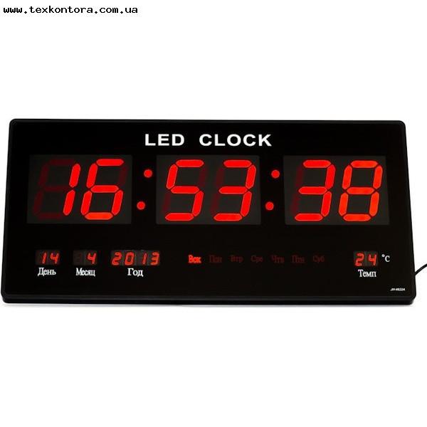 Цифровые настенные часы Led-3614