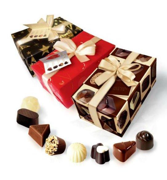 набор шоколадных конфет из Европы