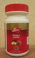 Трифала Чурна Дабур 120 гр Triphala churna Dabur - мощное и стойкое воздействие на организм, порошок