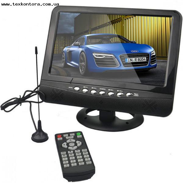 Портативный телевизор 9 дюйм NS-901 + аккумулятор