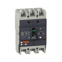 EZCV250N3160 Автоматический выключатель регулировкой тока Easypact EZCV250N - TMD - 160 A - 3 полюса 3Т