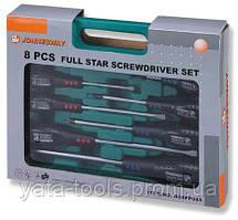 """Набор отверток шлиц и крест """" FULL STAR"""" SL 6,5х38-6,5х"""