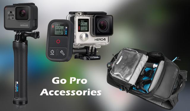 Оригинальные крепления и аксессуары GoPro