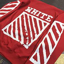 Свитшот OFF WHITE Hip Hop Red , фото 3