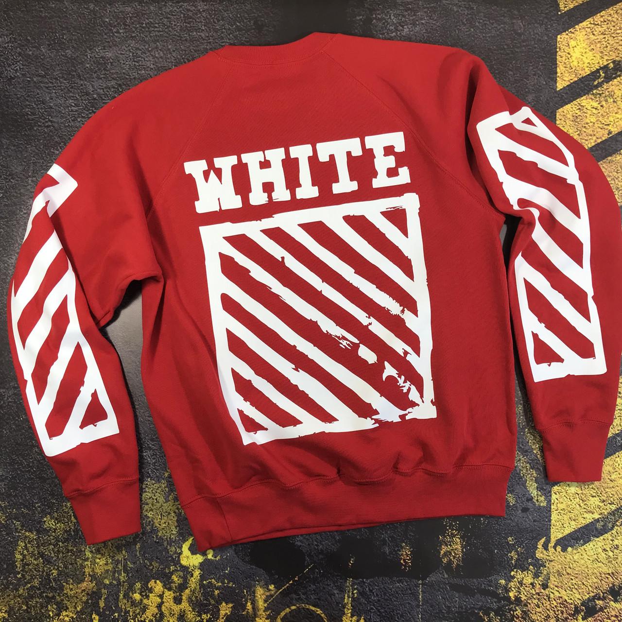 Свитшот OFF WHITE Hip Hop Red