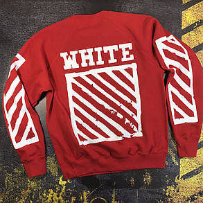 Свитшот OFF WHITE Hip Hop Red , фото 2