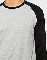 Мужская серый свитшот , фото 3