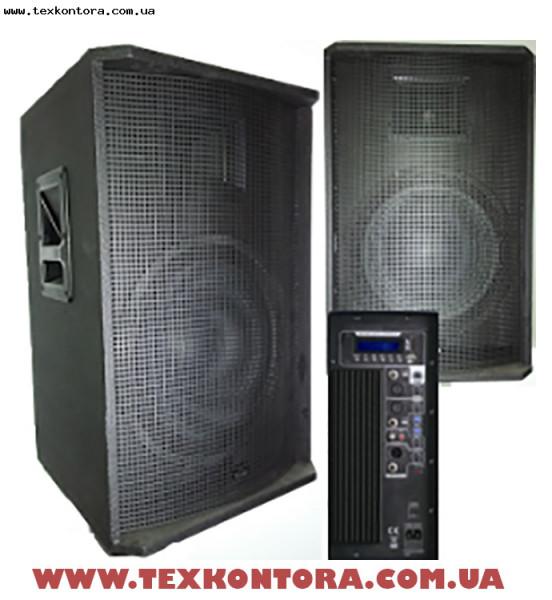 Акустическая система активная BIG TIREX400-MP3-BLT-FM