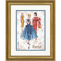 Набор для вышивания крестом Винтаж/Simplicity Vintage DIMENSIONS 70-35369