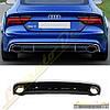 Диффузор стиль RS7 для Audi A7 2012+