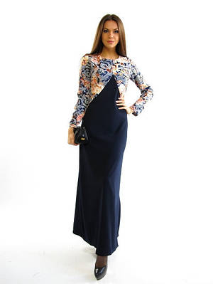 Модное платье в пол