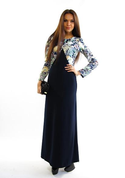Нарядное платье в пол