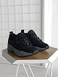 Женские кроссовки Acne Studios Black. Живое фото. Люкс реплика ААА+, фото 3