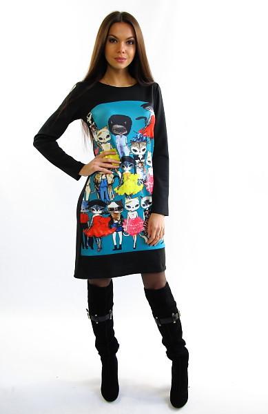 Модне жіноче плаття міді