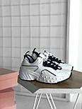 Женские кроссовки Acne Studios White Black. Живое фото. Люкс реплика ААА+, фото 3