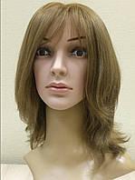 Парик женский из 100% натуральных волос пепельно-золотистый Белинда