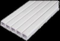Труба квадратная пластиковая 22 х 22 мм для ниппельных систем поения. Цена за м/пог.
