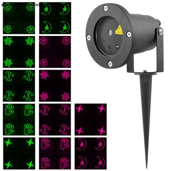 Лазерный уличный прожектор YXCPD-6F