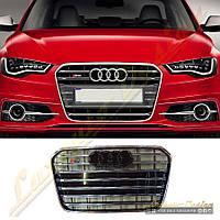 Решетка радиатора стиль S6 для Audi A6 2012-16