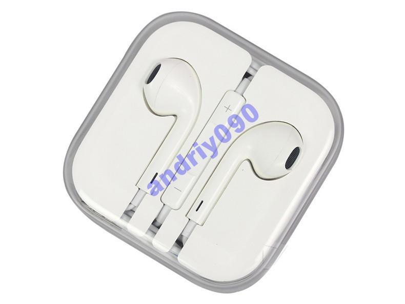 Наушники Apple iPhone 5 5S 4 4S 3S Ipod IPad БЕЛЫЕ  продажа 094f291a42511