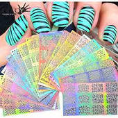 Трафарет для дизайна ногтей