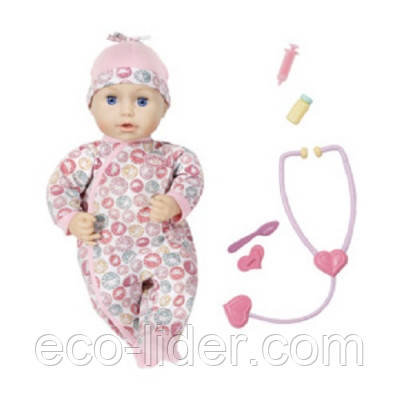 Інтерактивна лялька BABY ANNABELL - ДОКТОР (43 см, з аксесуарами)