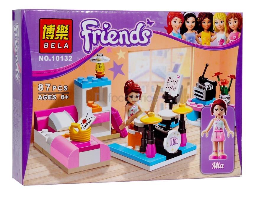 Конструктор Bela Friends 10132 Комната Мии 85 деталей