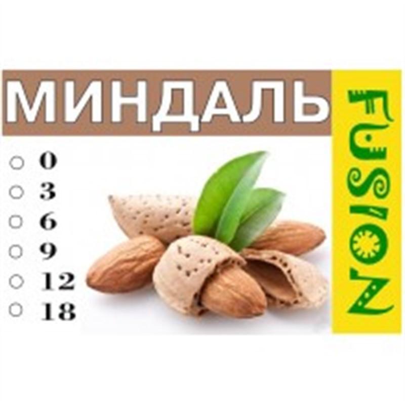 FUSION Жидкость для электронных сигарет. Фруктовые вкусы. Миндаль, 9 мг